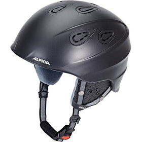 Alpina Grap 2.0 Casco de esquí, black matt